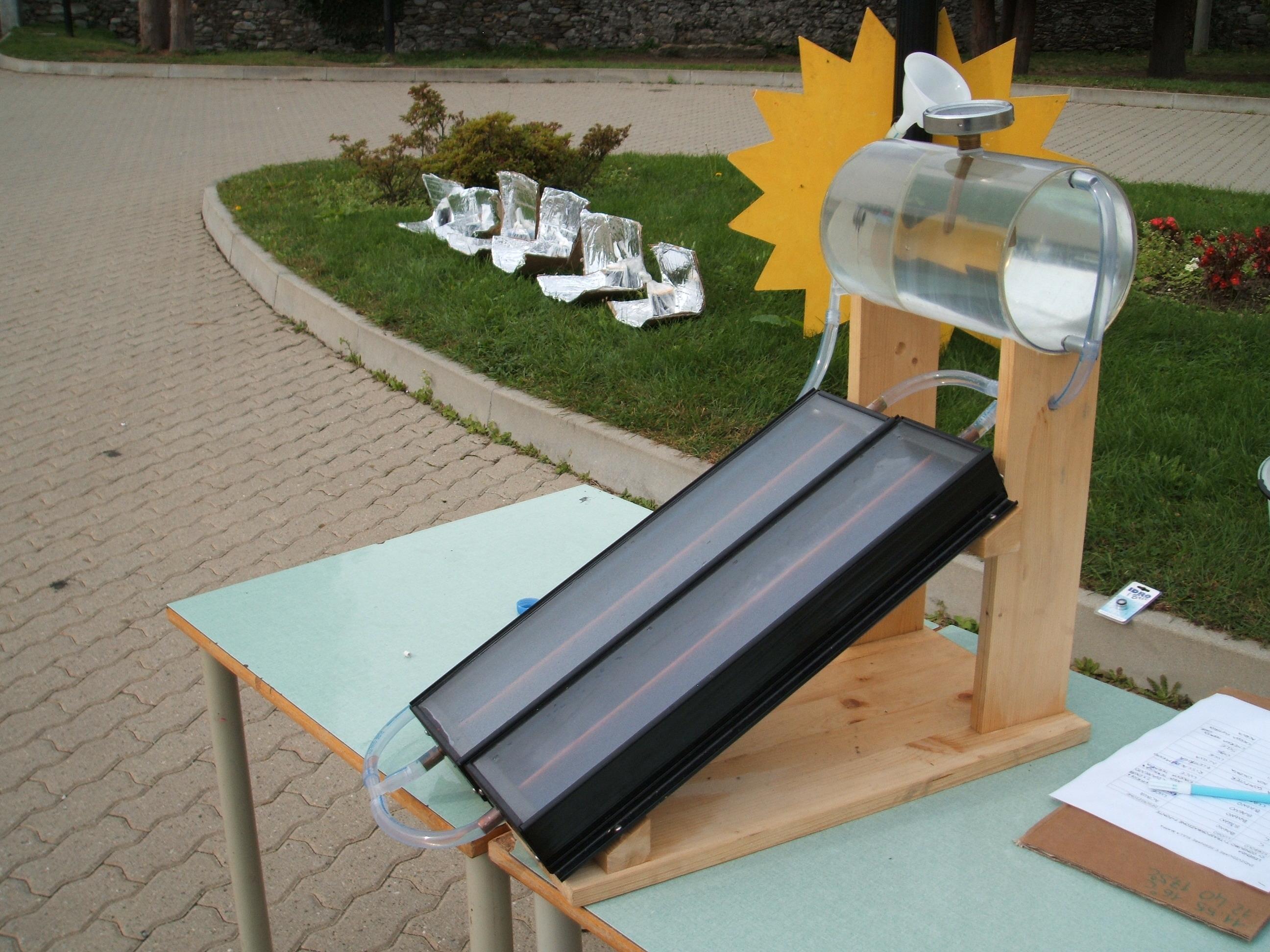 Kit Pannello Solare Acqua : Progetto risparmio energetico pannelli solari termici